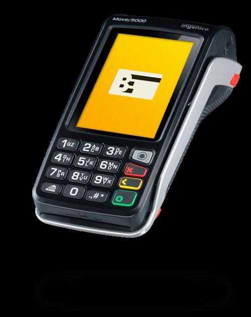 Mobiles EC Gerät Ingenico Move 5000 von Bezahlexperten