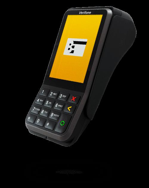 Mobiles EC Gerät Verifone 400m von Bezahlexperten
